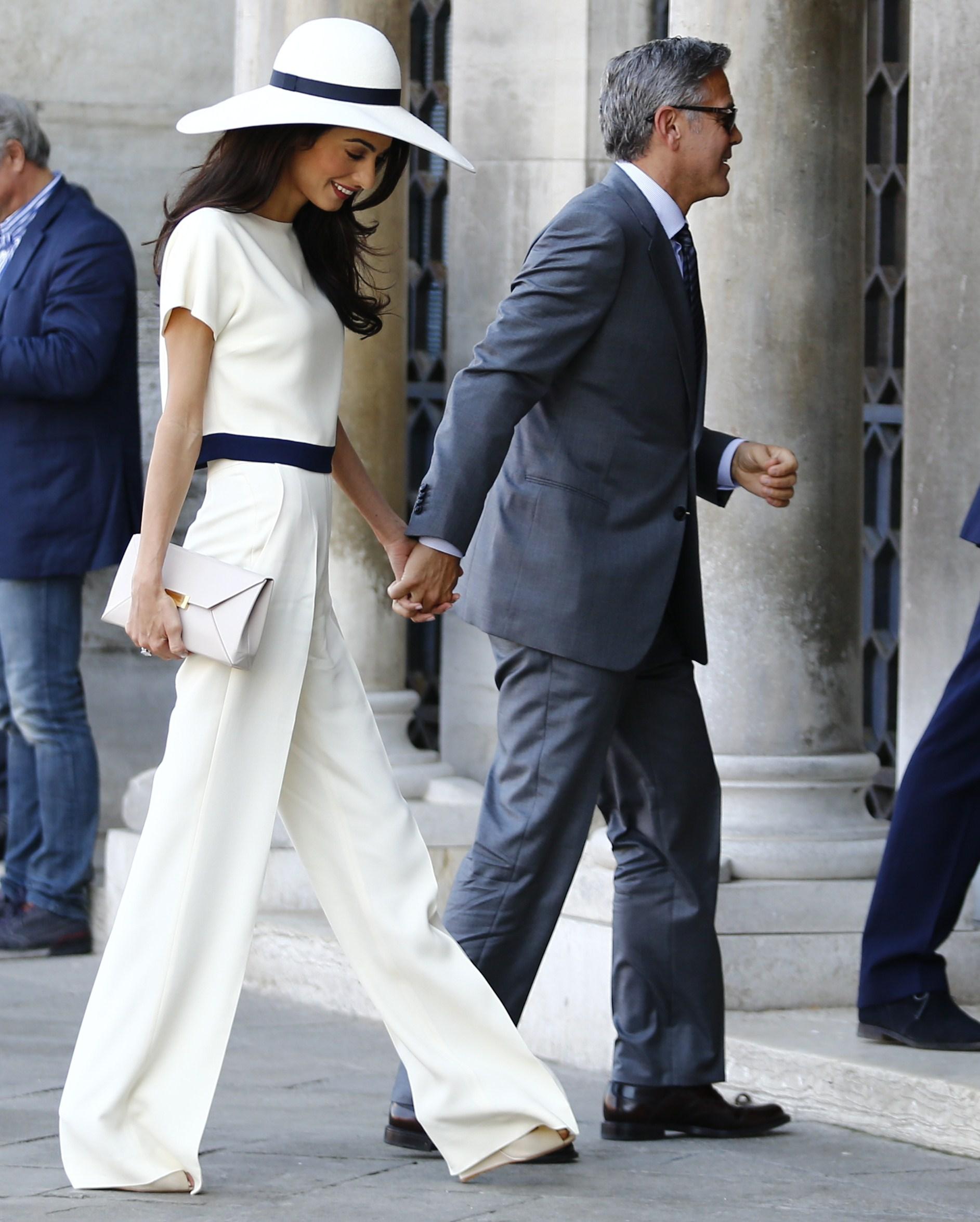 matrimonio di George Clooney e Amal