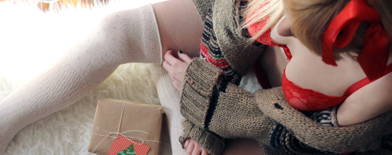 lingerie rossa