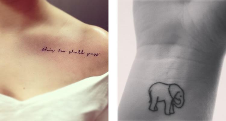 Idee Tatuaggi Piccoli Femminili