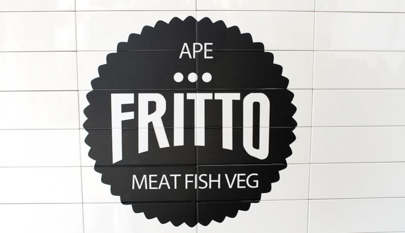 ape fritto dressing and toppings