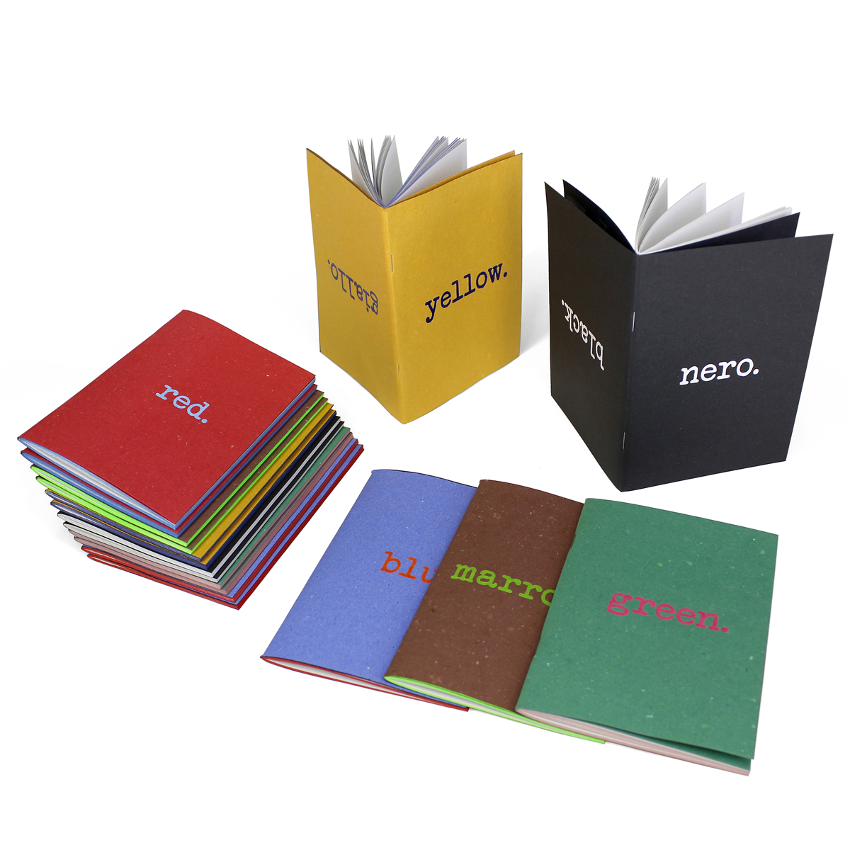 Kroma - recycled paper notebook by Arbos
