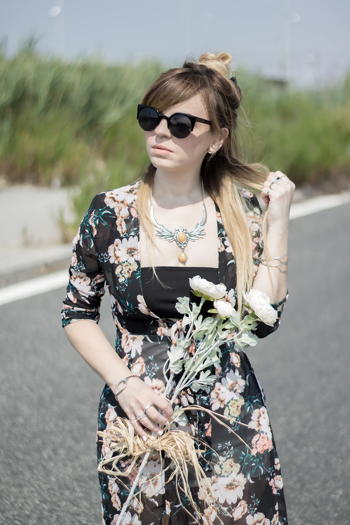 look boho folk dressing and toppings