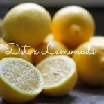 bevanda detox limone e zenzero dressing&toppings