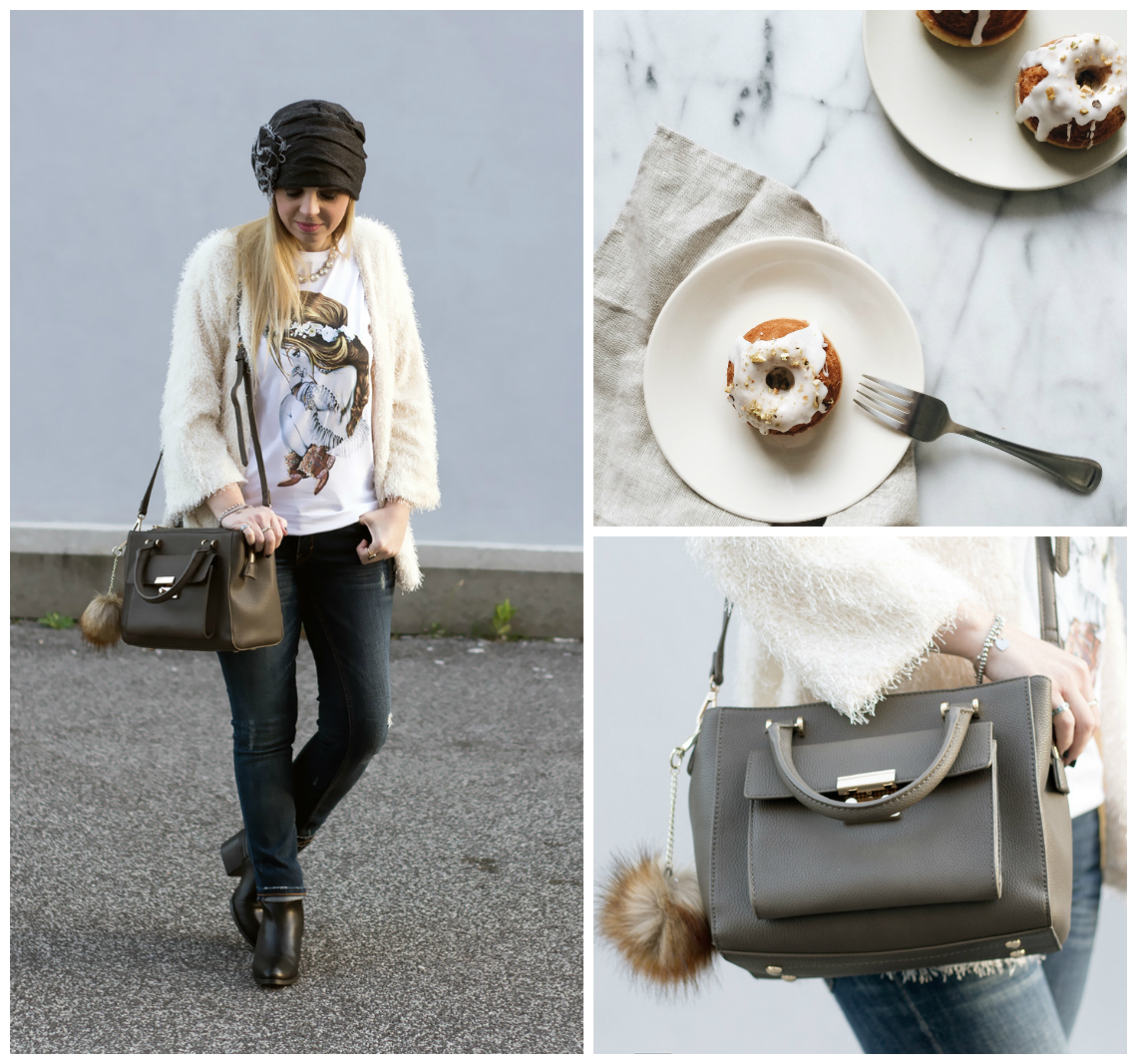 t-shirt in inverno dressing&toppings