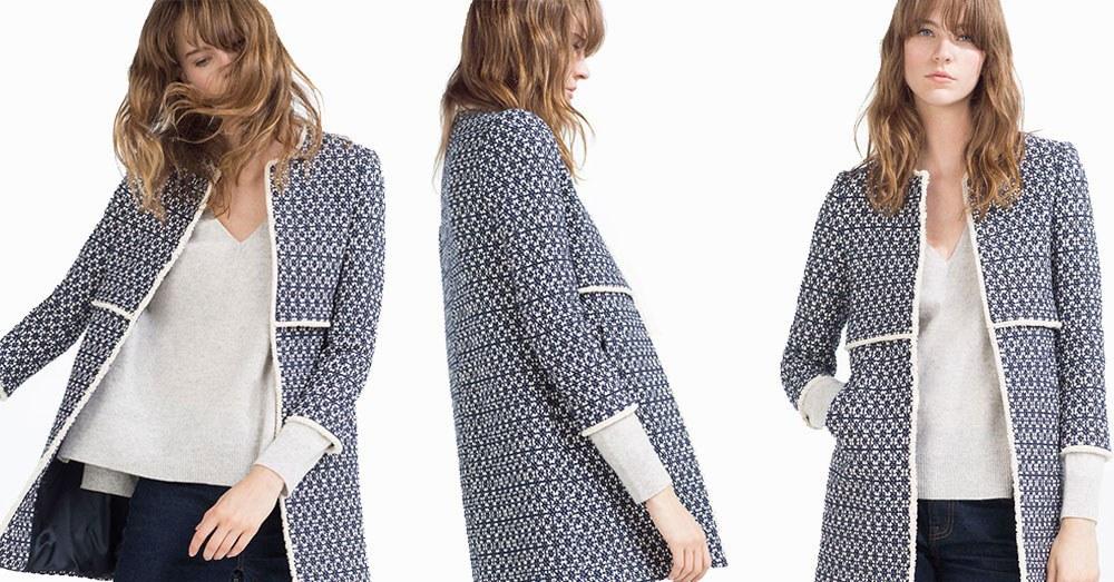 the latest becd4 4b7d0 thatcoat, lo strano caso del cappotto di Zara a Londra ...