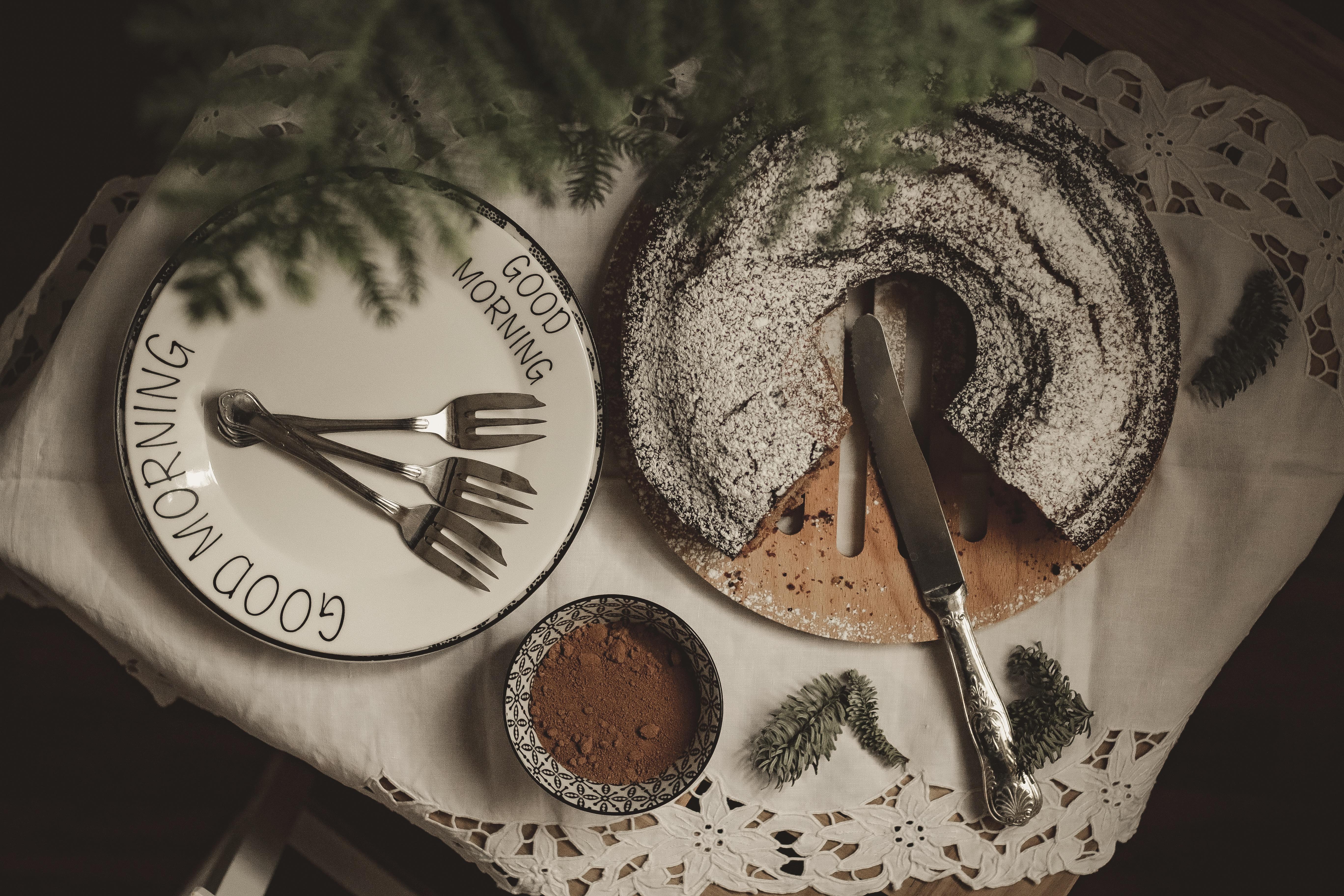 ciambella con orzo e cacao