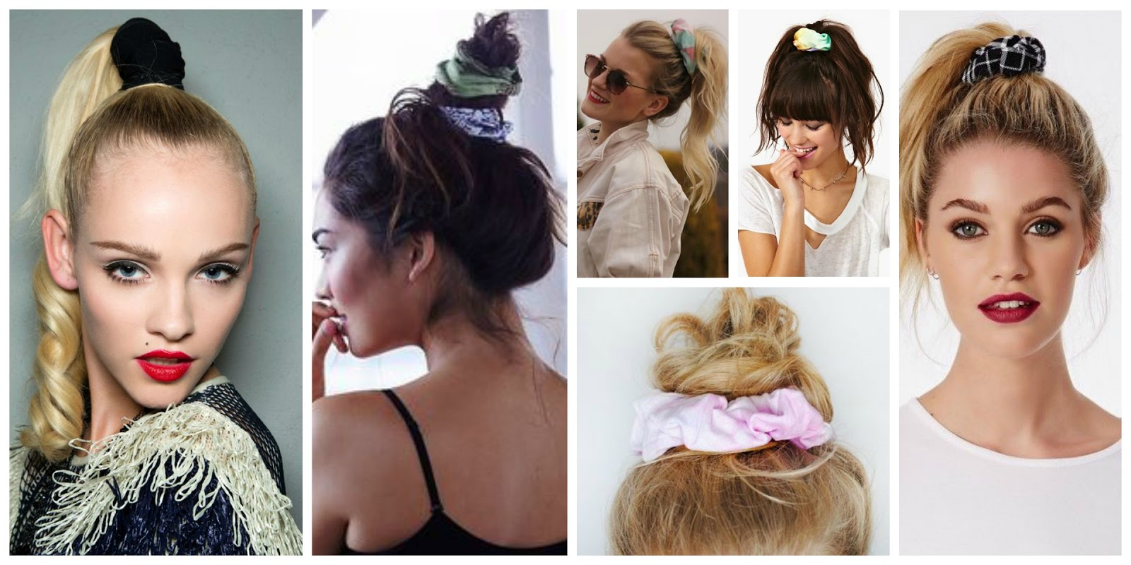 scrunchie accessorio capelli