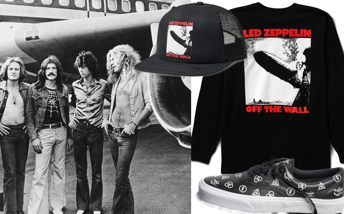 vans con i led zeppelin