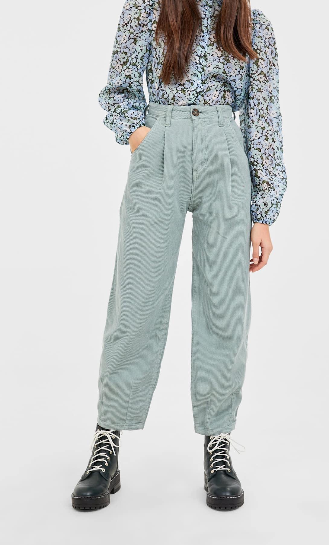 pantaloni slouchy