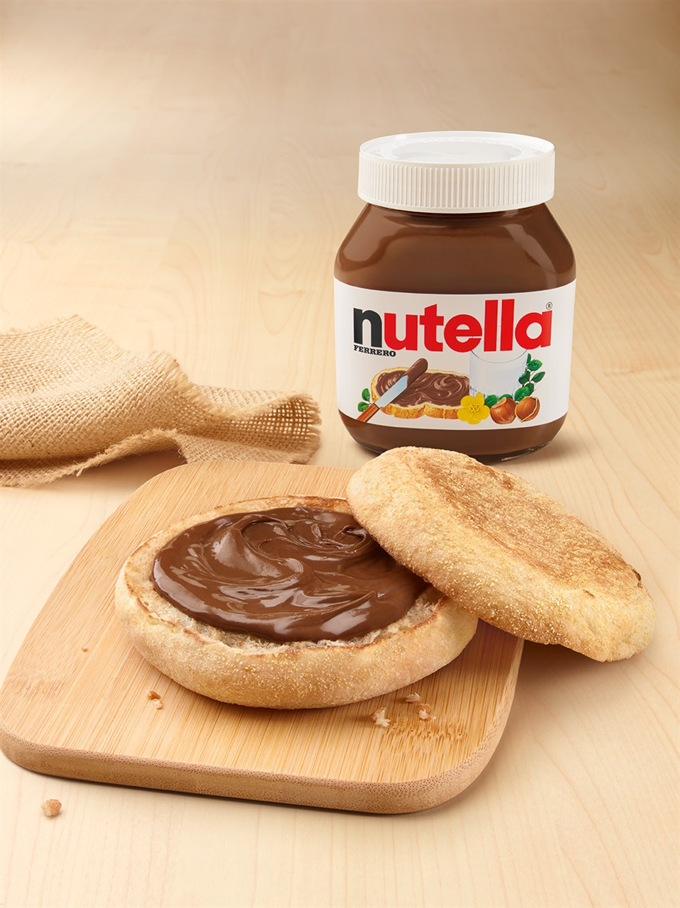 mccrunchy bread nutella pane nutella mcdonalds
