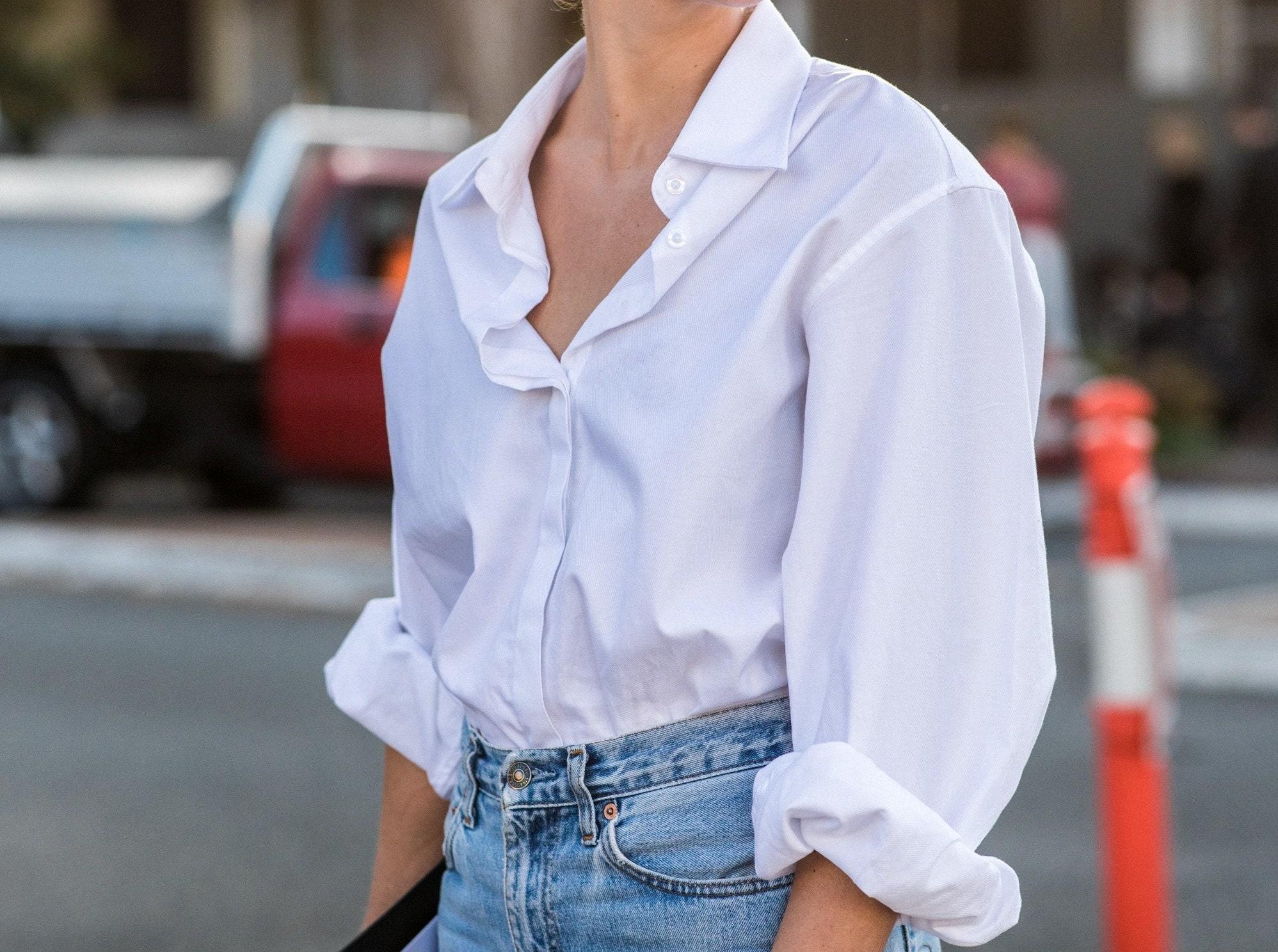 camicia oversize