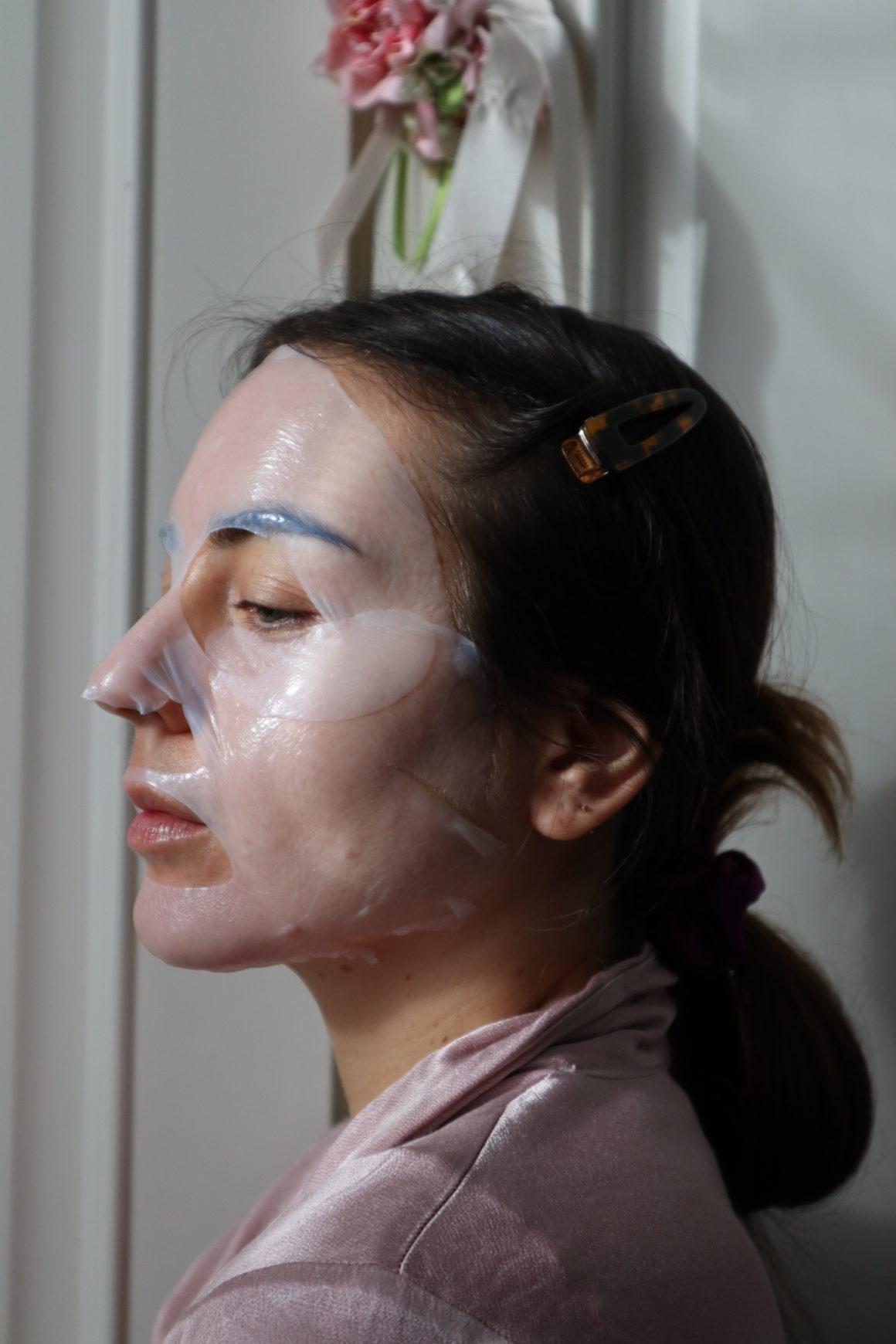 maschera viso patch occhi resultime