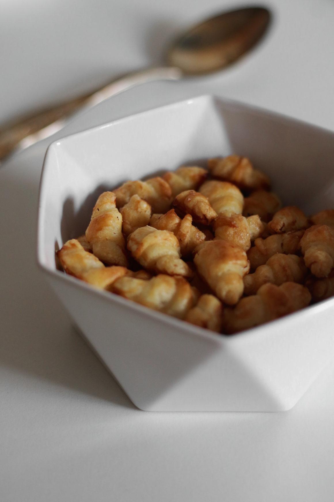 mini croissant cereali