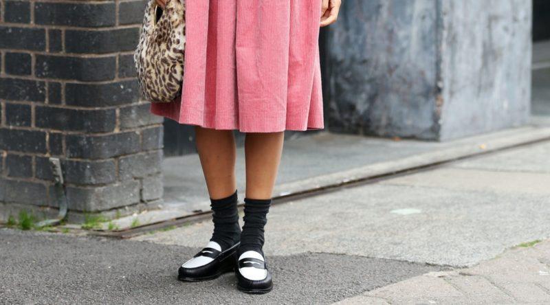 mocassini e calzini