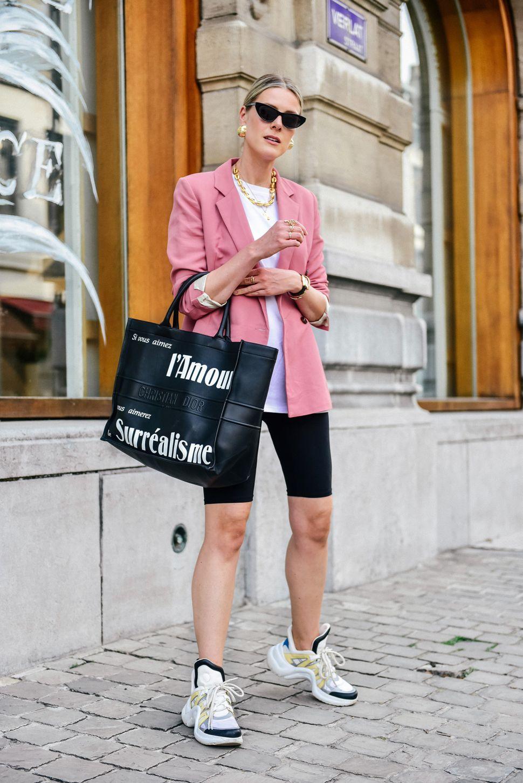 come indossare il blazer in estate