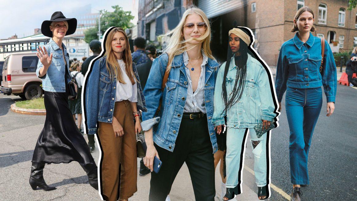 come abbinare la giacca di jeans in estate
